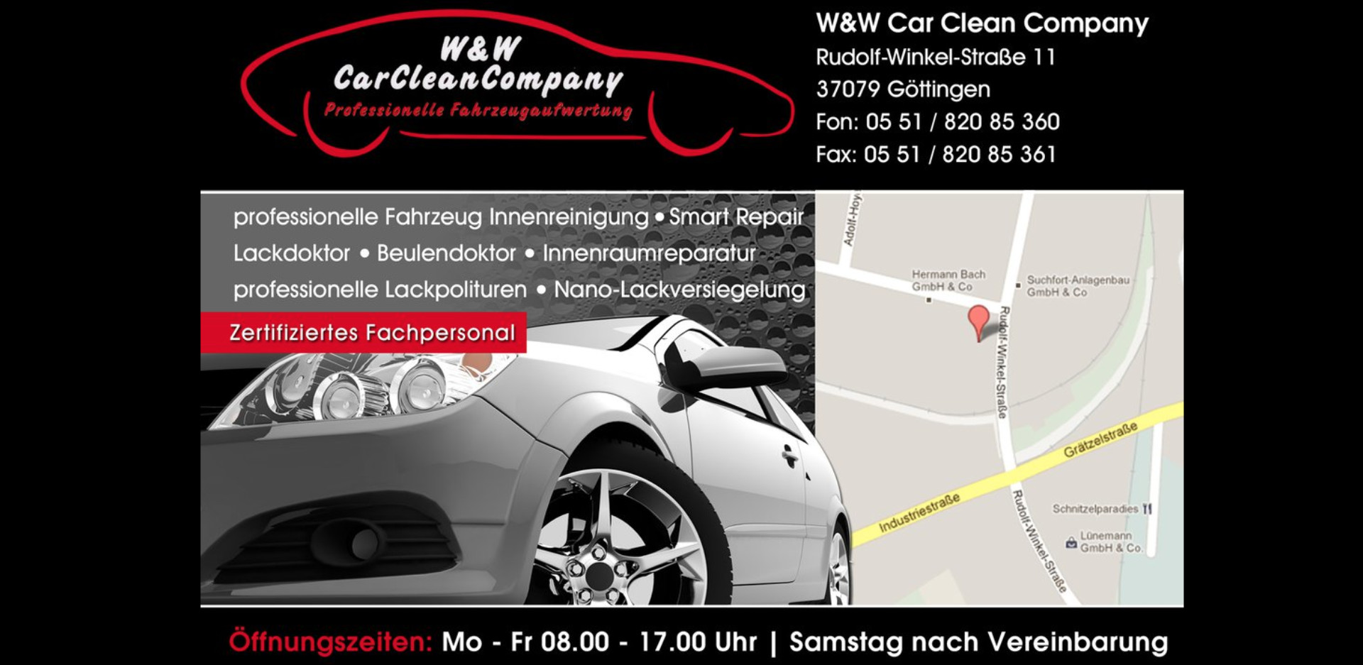 Willkommen W W Car Clean Company